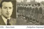 """1939г. - Ласло Клайн, в дясно """"Пловдивски Спортклуб"""""""